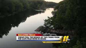 2 Teens Drown In Cape Fear River