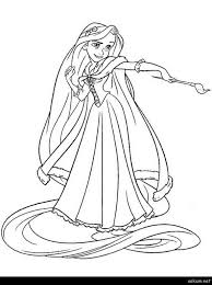 Paint Brush Coloring Page Paint Brush Coloring Page Princess Holding