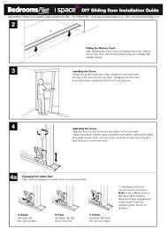 stanley mirrored sliding closet. Stanley Mirrored Sliding Closet Doors Installation Instructions