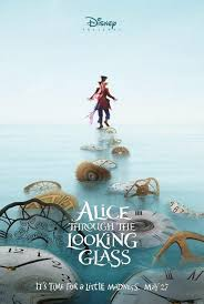 it s time for a little madness diseny releases posters for alice  it s time for a little madness diseny releases posters for alice sequel bleeding cool news and rumors