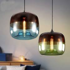 Moderne Nordic Style Glaskugel Pendelleuchte Decke Kronleuchter Leuchte Wohnzimmer Restaurant Dekor