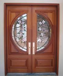 wood front entry doors exterior doors