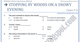 on stopping by woods on essay on stopping by woods on