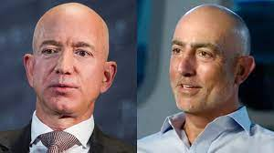 Who is Jeff Bezos' brother?