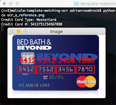 Superb Learn How To Apply Optical Character Recognition (OCR) To Recognize The  Digits On A Credit Card Using OpenCV, Python, And Template Matching.