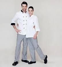 Fashionable <b>White</b> Grid,Unisex Elastic Work Pants,<b>Concise</b> Chef's ...