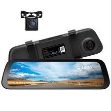<b>70mai Rearview Mirror Dash</b> Cam Wide + Night Vision Rear Cam ...
