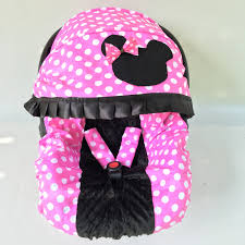 exquisite baby car seat cover infant car seat cover minnie mousestyle in baby girl car seat