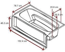 average bathtub size length width and depth of a bathtub average bathroom sink drain size average bathtub size