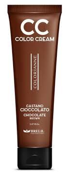 <b>Brelil CC Colour Cream</b> 150ml - Chocolate Brown - Hair Plus