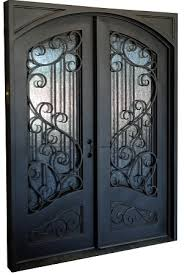 wrought iron front doors0x80 Sofia Exterior Wrought Iron Door
