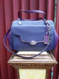 COACH MADISON SAFFIANO LEATHER MADALINE EAST WEST SATCHEL  25162 DUST BAG  INCLUDED!