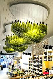 wine bottle chandelier outstanding photo 4 of 7 no item
