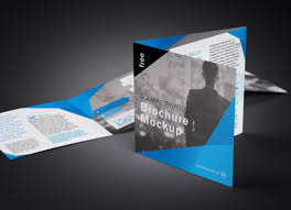 Free Tri Fold 3 Fold Square Brochure Mockup Psd Set Good