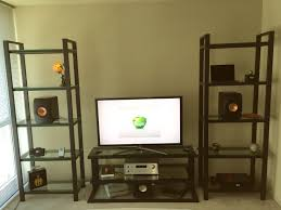 kef ls50 home theater. lets see your setup hometheater amp ra 1570 macbook pro apple tvapple airport kef ls50 velodyne microvee subwoofer its a 2 1 that i watch film and tv on home theater o