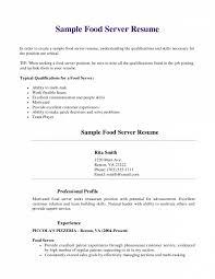 Waitress Description For Resume Skills For Server Resume Stunning Waitress Pretentious Dramatic Of 82