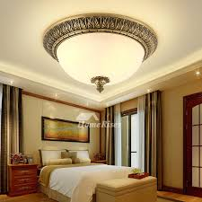 round brass gold ceiling lights led