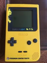 Game Boy Light Gameboy Light Pokemon Center Tokyo Imgur