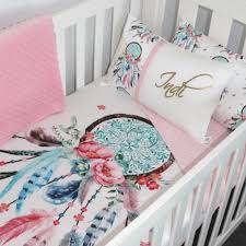 Dream Catcher Baby Bedding Magnificent Dreamcatcher Cot Set Personalised Nursery Bedding And Decor