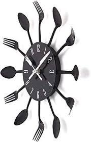 Timelike <b>Kitchen</b> Wall Clock, 3D <b>Removable</b> Modern <b>Creative</b>