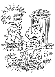 Coloring Pages Dylan And Trash For Kids Printable Free Coloring Pages