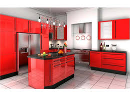 fitted luxurious kitchen unit