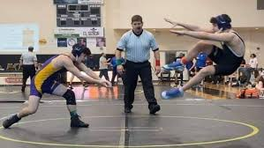 Two wrestlers were immediately disqualified seconds into their ...