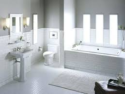 Subway Tile Bathroom Designs New Decoration