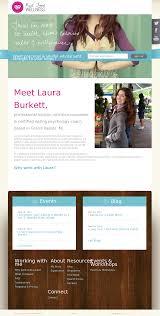 Wellness Website Design Inspiration Real Food Wellness Website Design Holistic Nutrition