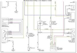 2001 nissan xterra a c pressure switch not work here are the diagrams for the a c circuit