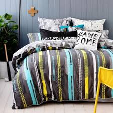 22 best {Bedroom themes} Boys tween/teen images on Pinterest ... & Ruckus Flynn - Bedroom Quilt Covers & Coverlets - Adairs Kids online -  #wakeupandbeawesome pillowcase Adamdwight.com