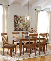 Ashley Furniture Berringer  Piece X Table Chair Set Del Sol - Dining room chair sets 6