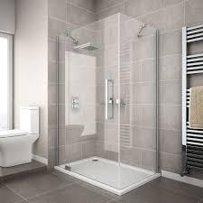 the apollo rectangular frameless shower enclosure with hinged door rectangular shower enclosure ing guide