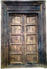 old antique carved door from jodhpur