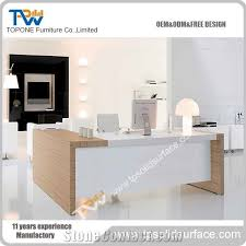 latest office table. Home \u003e\u003e Furniture Artificial Marble Stone And Wooden Latest Office Table Designs With White Corian Acrylic Solid Surface Tops