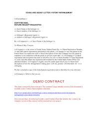 Sample Cease And Desist Letter Cease And Desist Template Summary ...