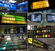 signage specialist brings you airport signage from around the  living in a cosmopolitan city like new york you tend to take a boastful pride in being able to distinguish different languages even if you can t