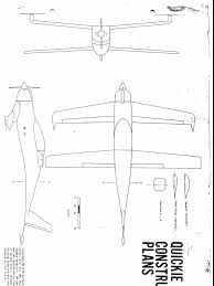 Aviation aircraft quickie construction plans