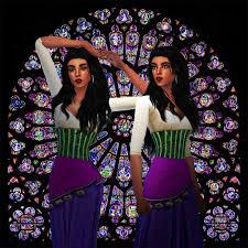 Day 16: Favourite Disney character: Esmeralda | Sims Amino