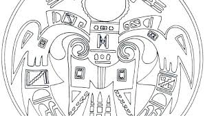 native coloring page pages free for kindergarten american color