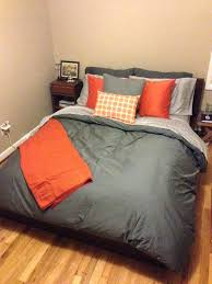 black and orange bedding gray and orange bedding amazing bedding boy orange blue grey orange twin