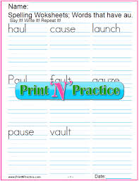 © contributed by leanne guenther. 44 Phonics Worksheets Practice Phonics Words Copywork