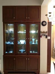 used curio cabinets glass door storage cabinet modern corner contemporary c