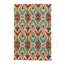 jaipur rugs mosiac blue 2 ft x 3 ft abstract area rug
