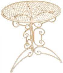 woodside small round outdoor metal