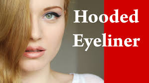 in this video tutorial i will show how to put eyeliner on hooded or