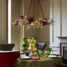 lighting table wreath