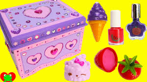 Melissa And Doug Decorate Your Own Jewelry Box DIY Treasure Box by Melissa and Doug Lisa Frank Lip Balms Shopkins 59