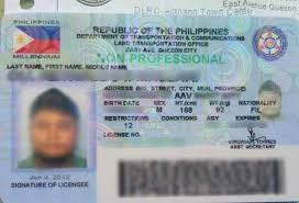 License ix Driver's 5-year Of Lto Start To Cards Next Distribution