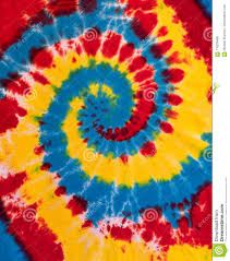 Tie Dye Swirl Design Colorful Tie Dye Swirl Spiral Design Pattern Stock